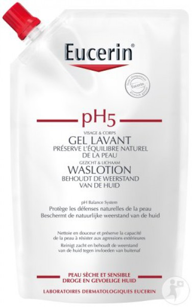 Eucerin pH5 Waslotion 400 ml Navulling